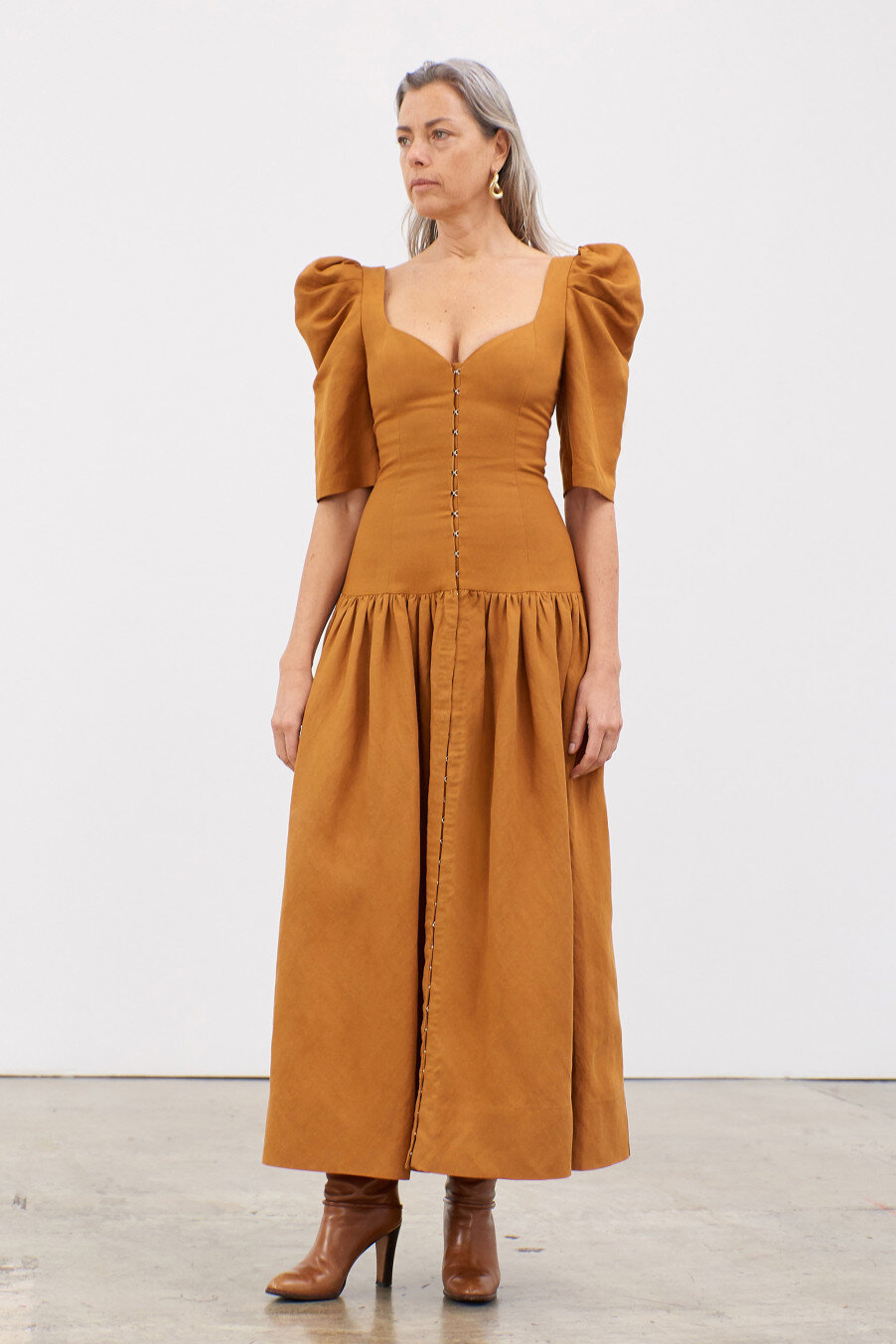 phaedra-drop-waist-puff-sleeve-hook-and-eye-dress-khaki.jpg