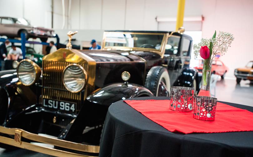 Cruise 4 Kids 1931 Rolls Royce Phantom II will be on display at Rancho Santa Fe Motor Storage