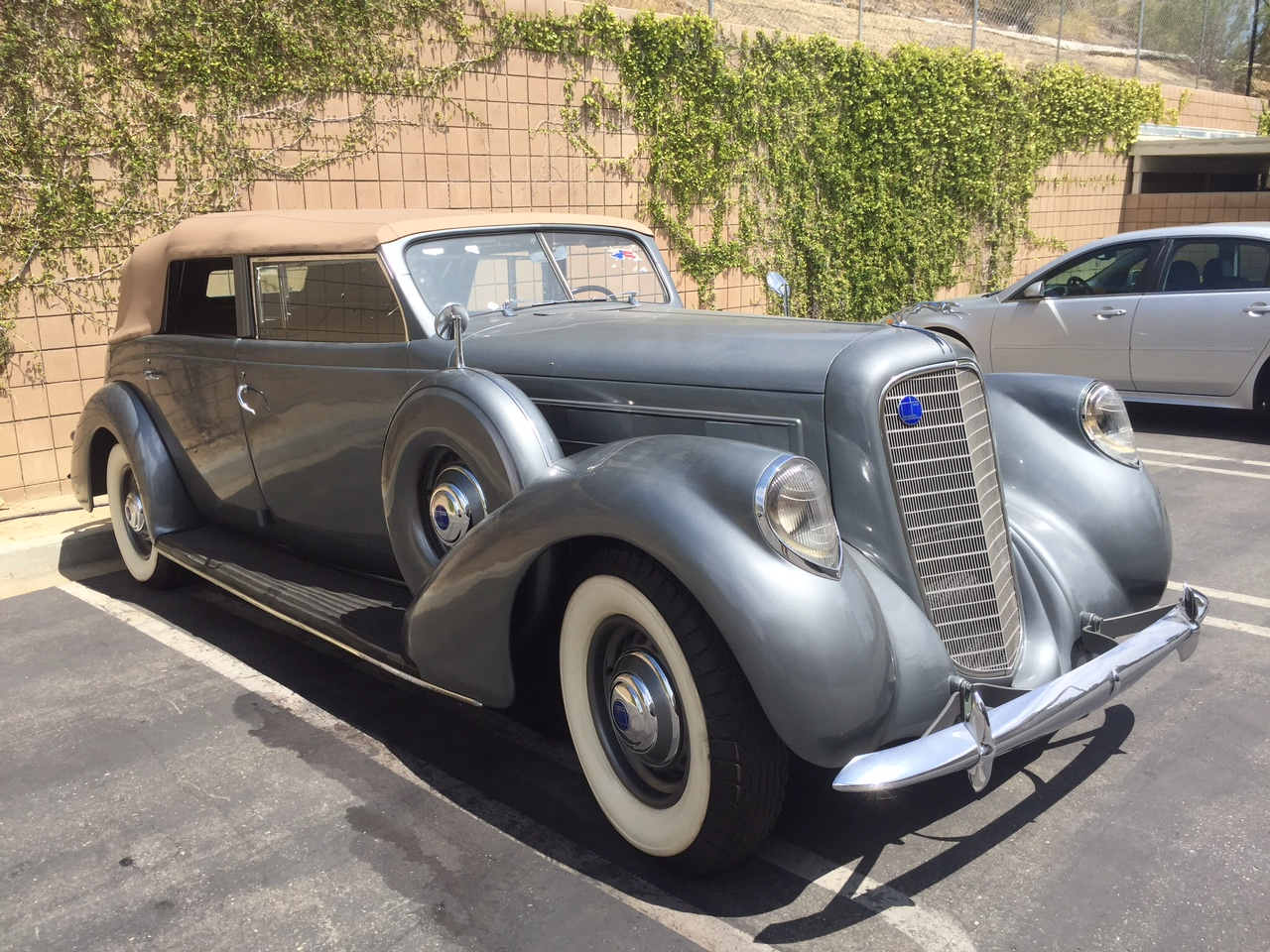 1931 Lincoln K LeBaron Convertible Sedan