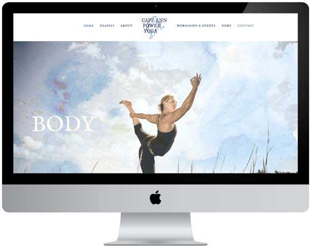 cape ann power yoga website