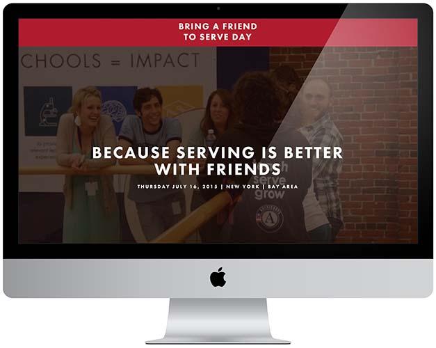 citizen schools refer a friend to serve website