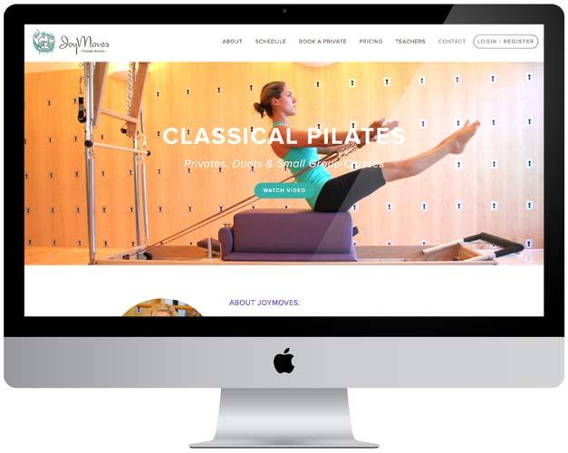 JoyMoves Pilates Website