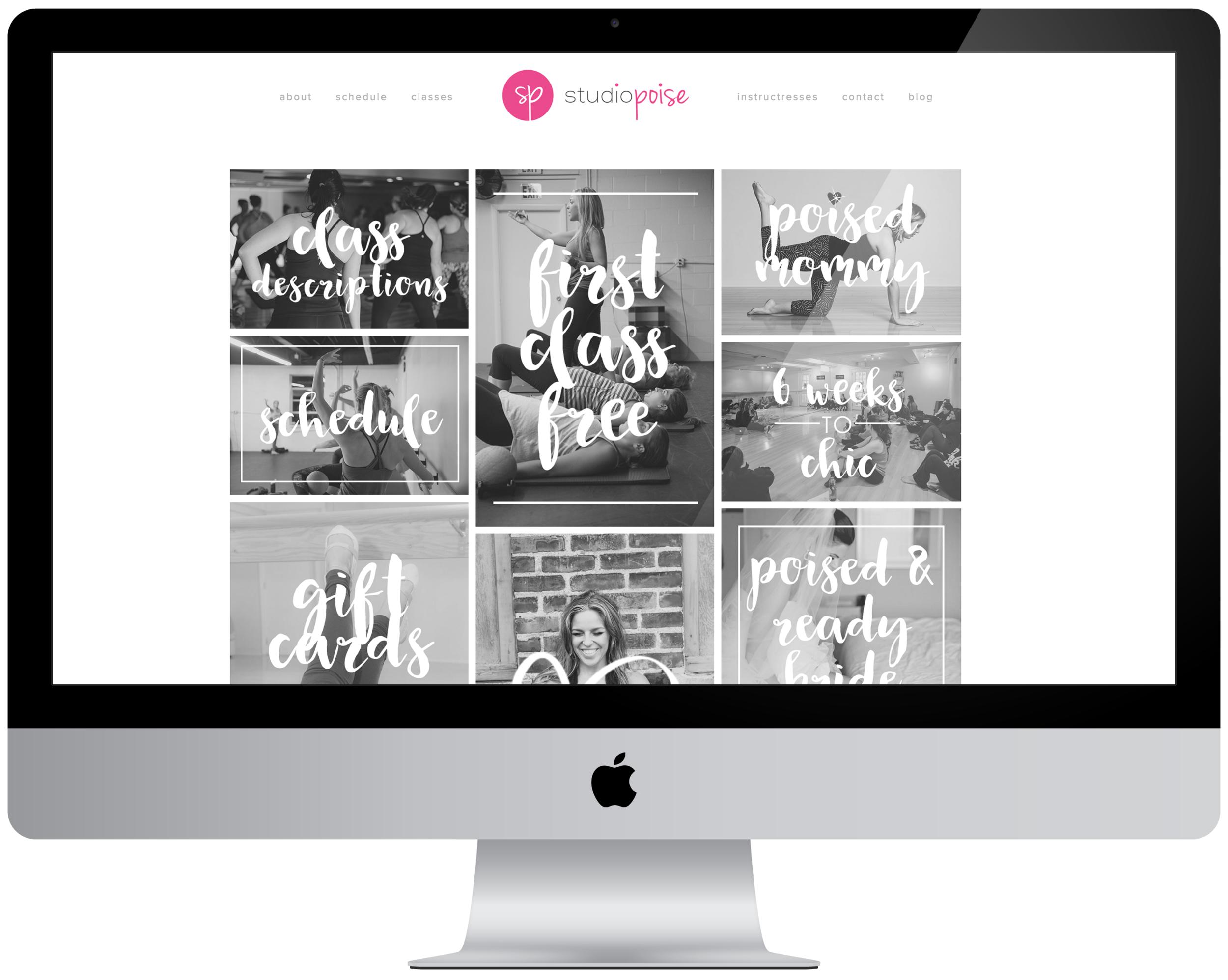 Studio Poise Website