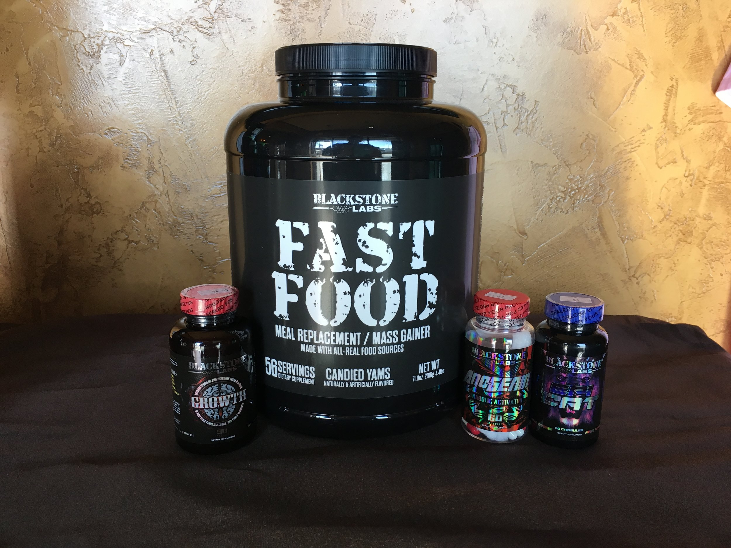 Natural Muscle Building stack