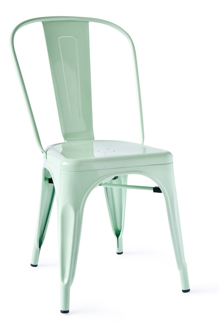 Celeste Metal Chair in Mint