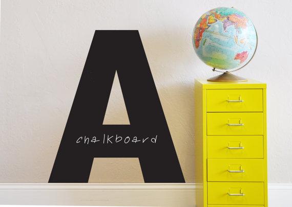 Letter Chalkboard
