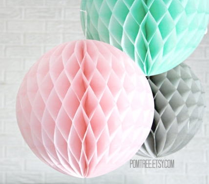 Party honeycomb lantern