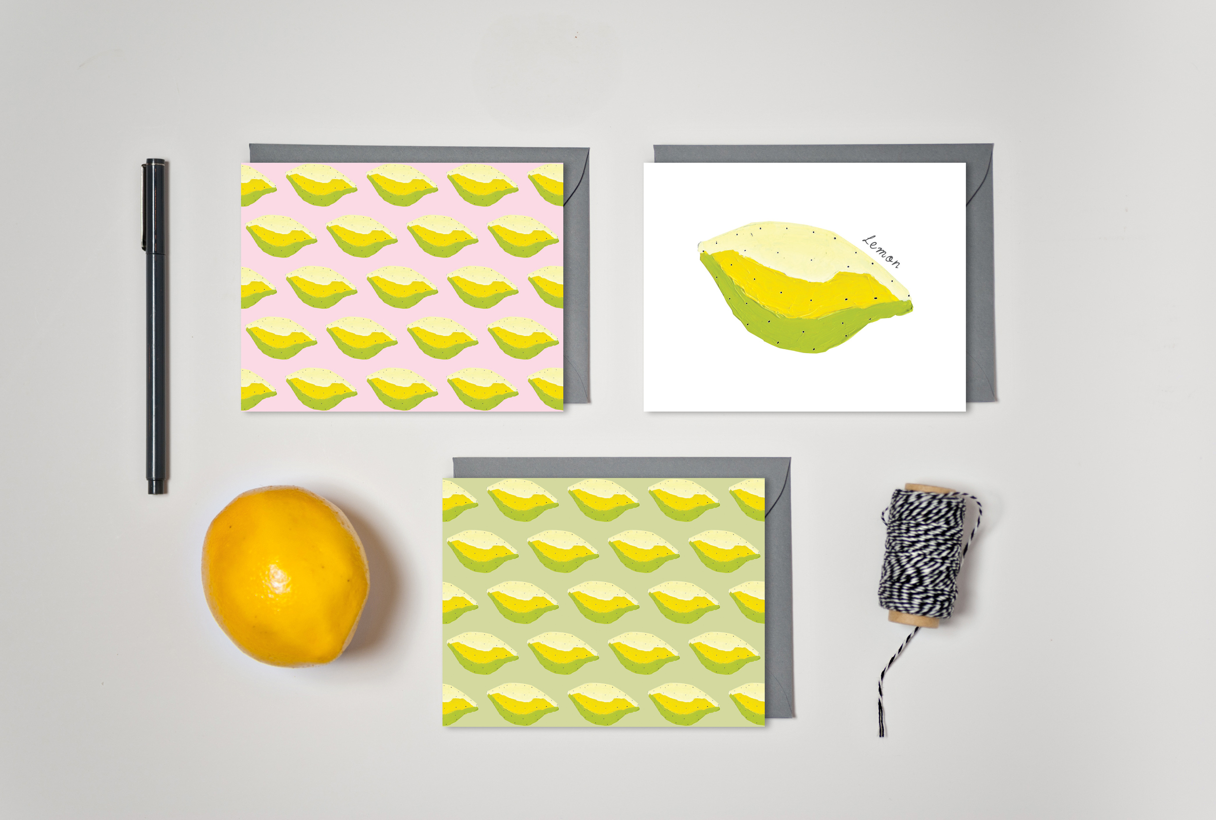 Lemon Card Set