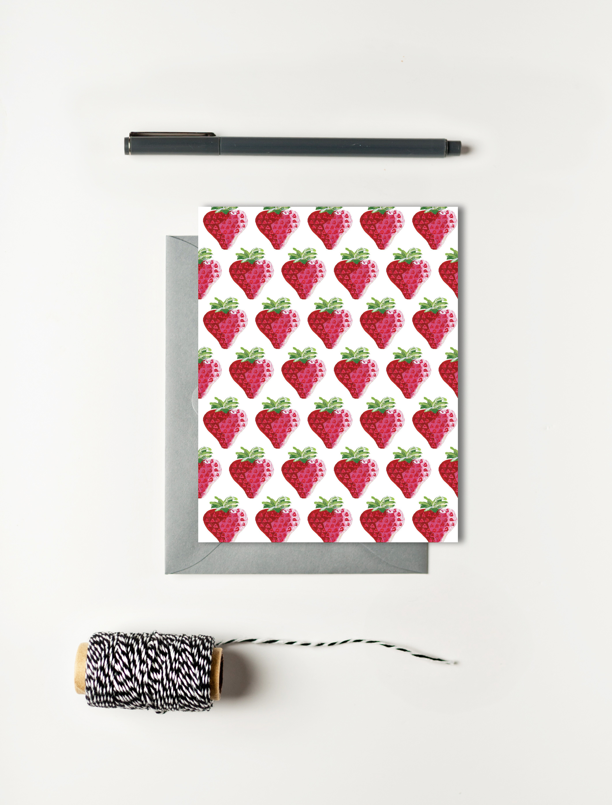 Strawberry Card Set