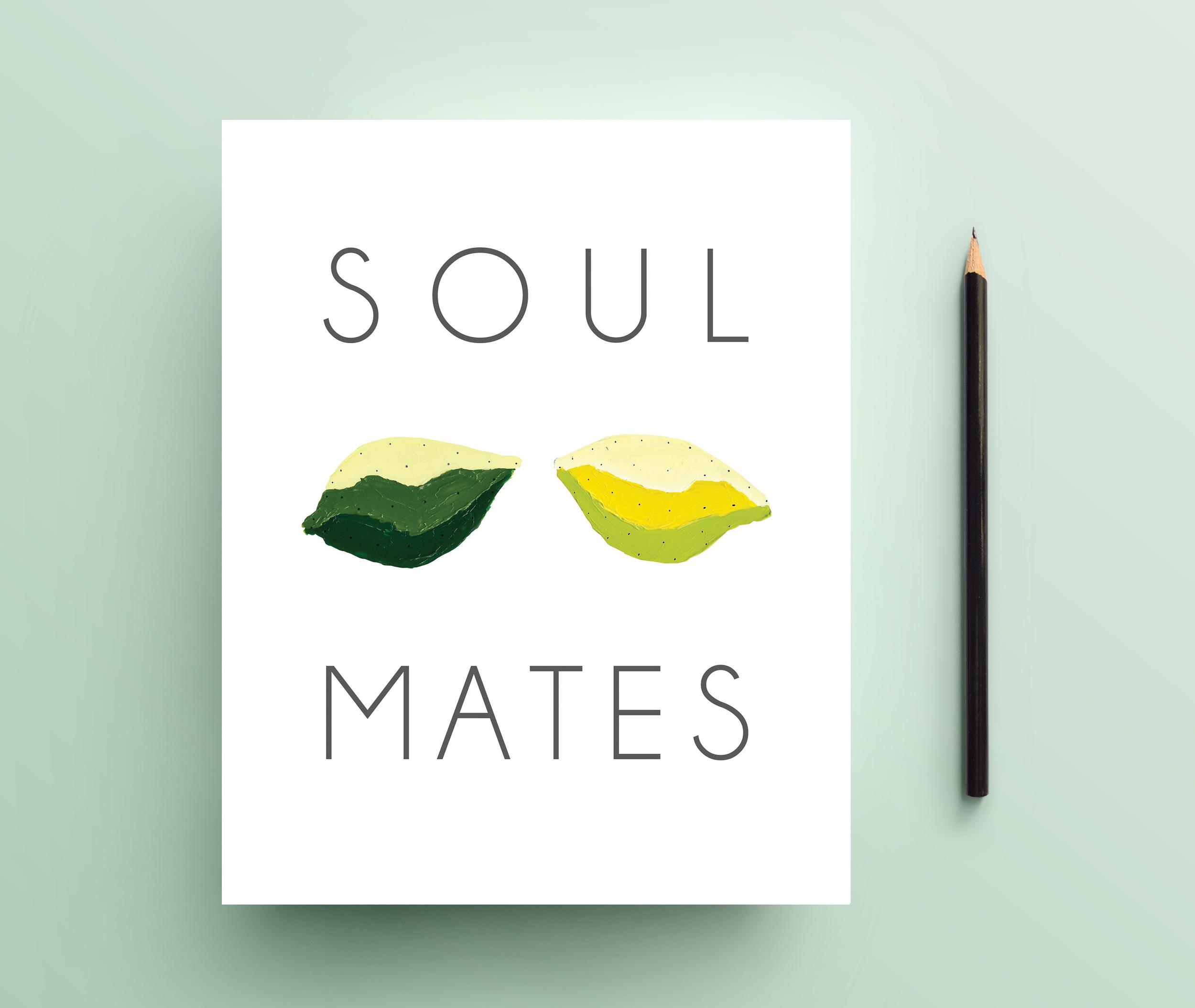 Soul Mates print