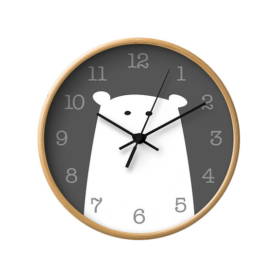 Polar Bear Clock