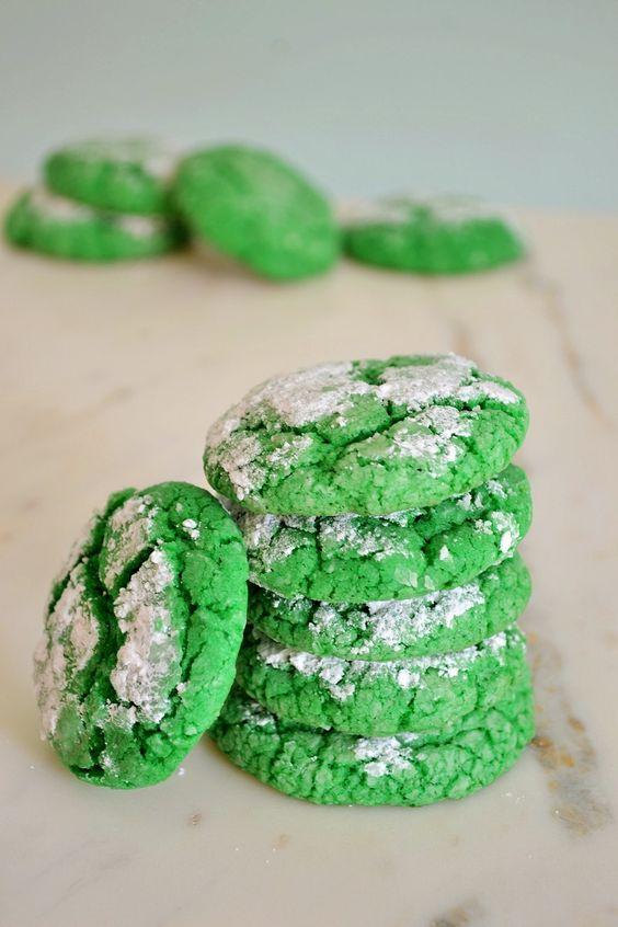 Green Sugar Cookies