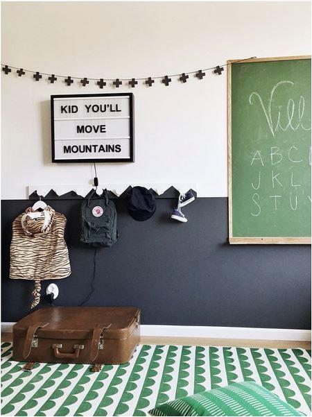 Green Children's Playroom