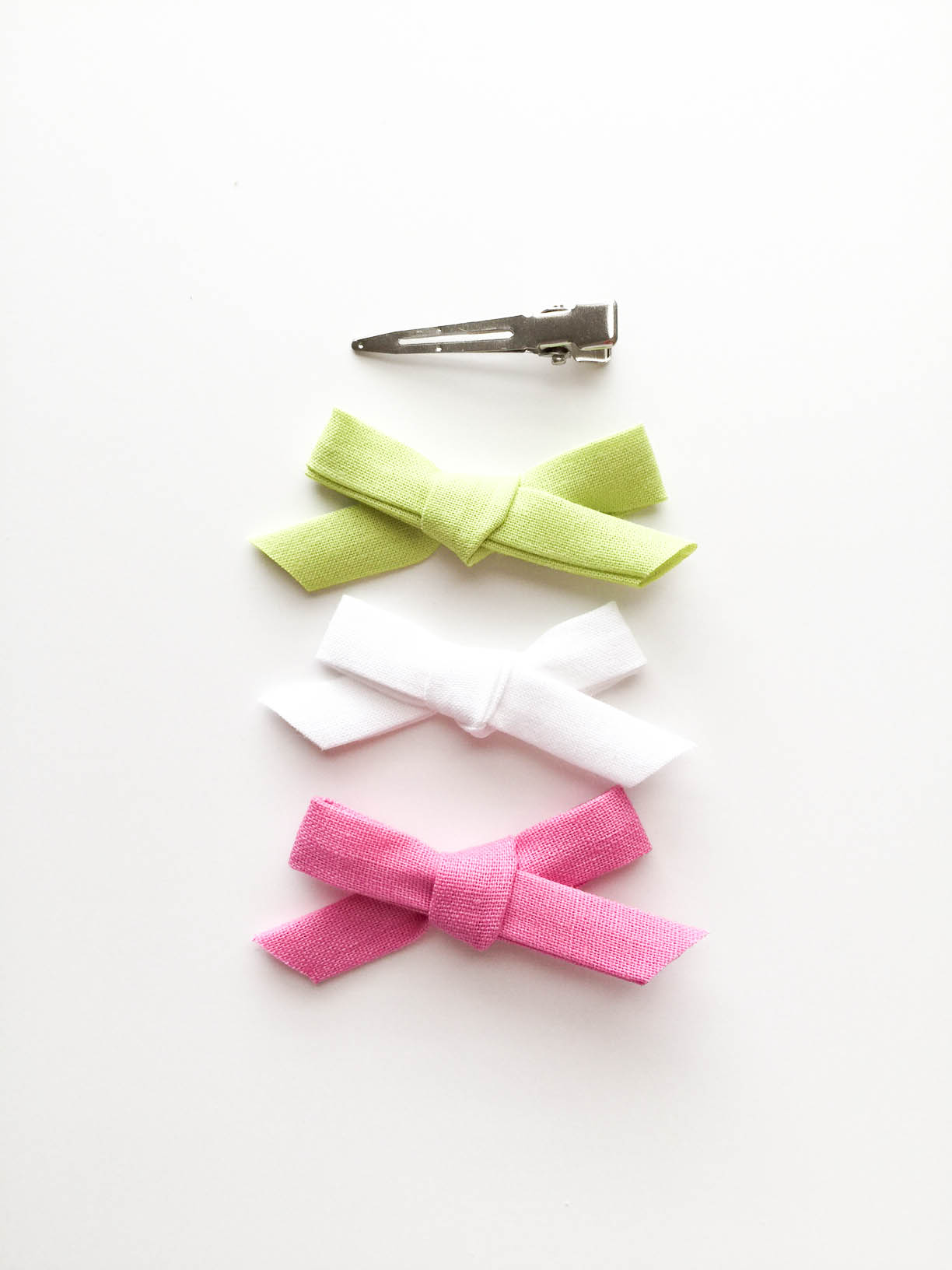 Mini Fabric Bow for Toddler