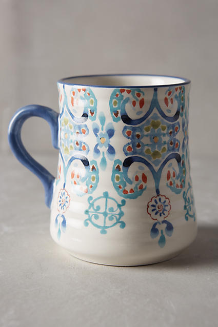Anthropologie : Swirled Symmetry Mug $10.00
