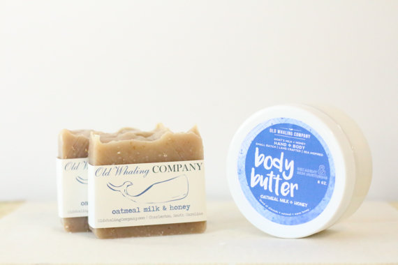 Old Whaling Company Soap and Body Butter made in Charleston