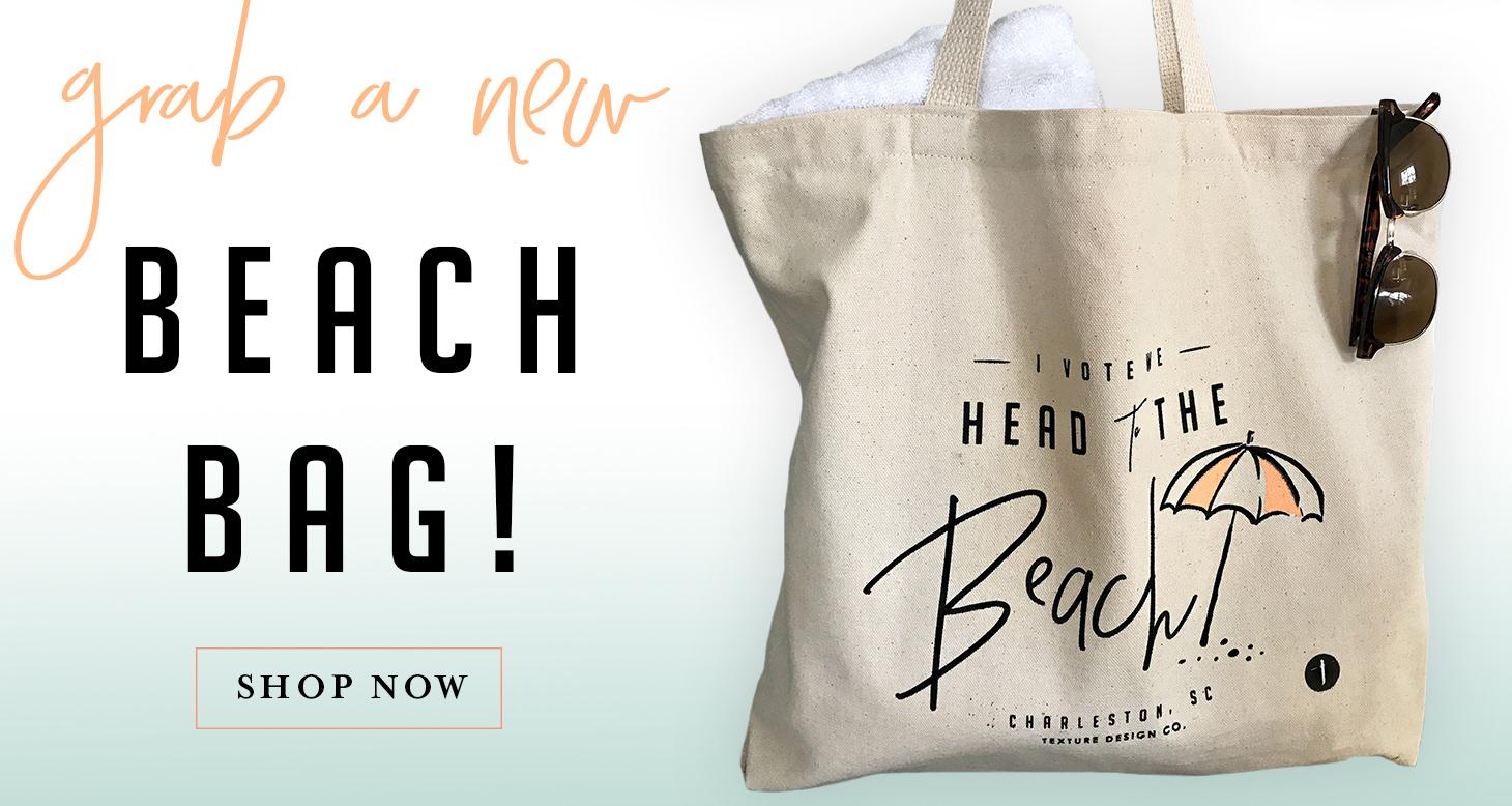 Charleston Beach Tote Bag