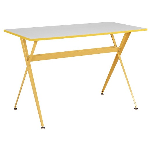 Primrose yellow writing desk