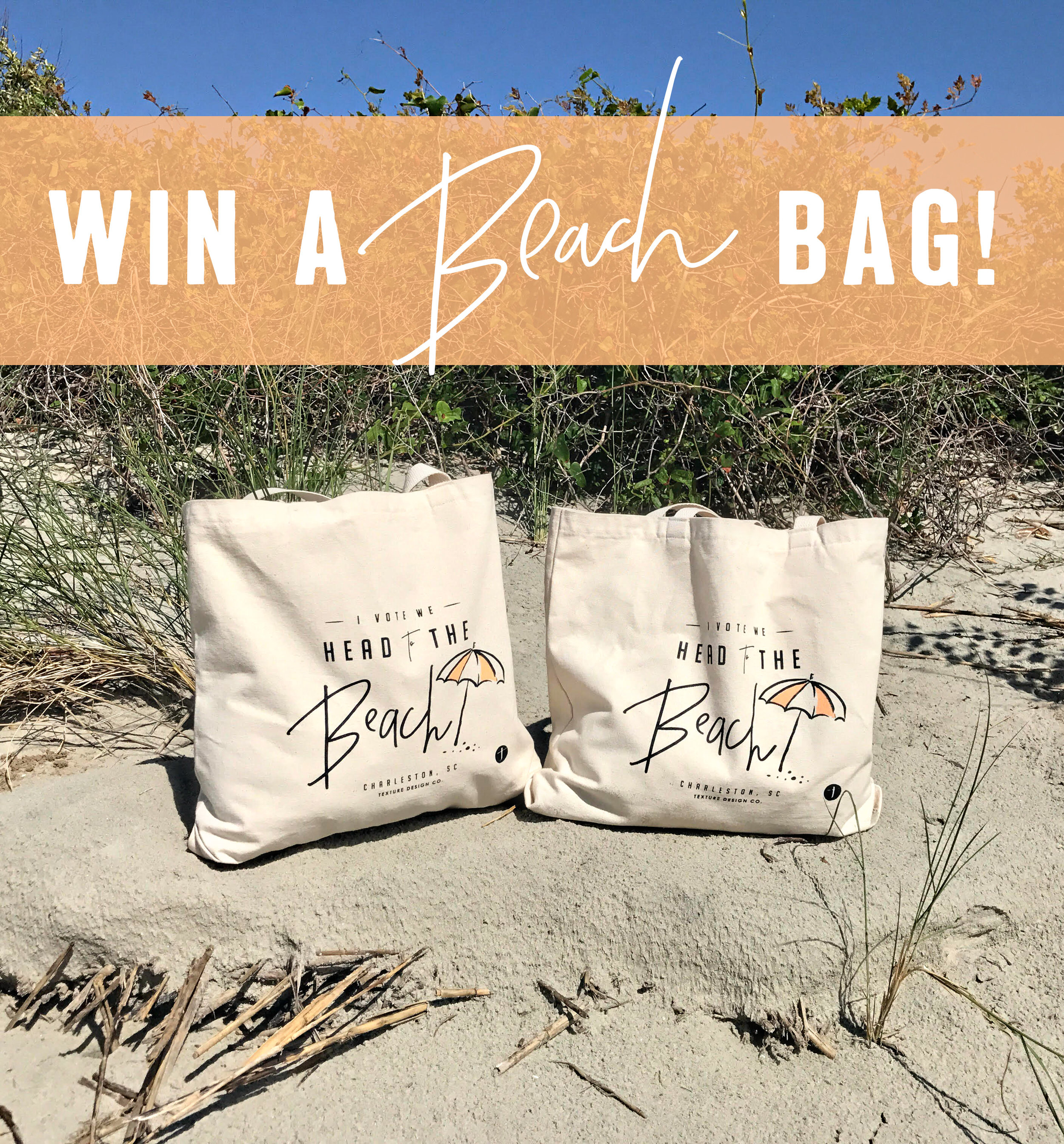 Beach bag giveaway
