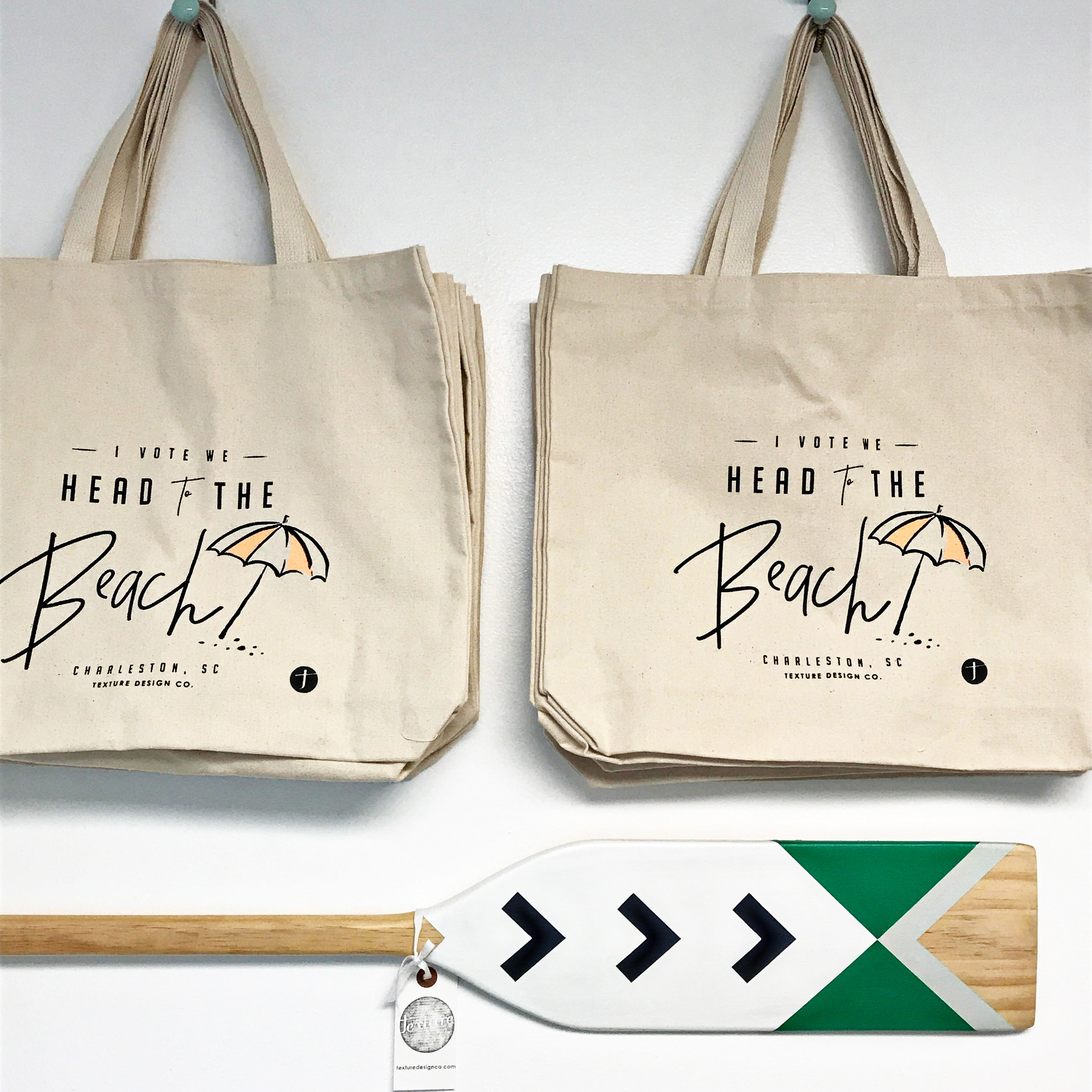Texture Design Co Beach Bag