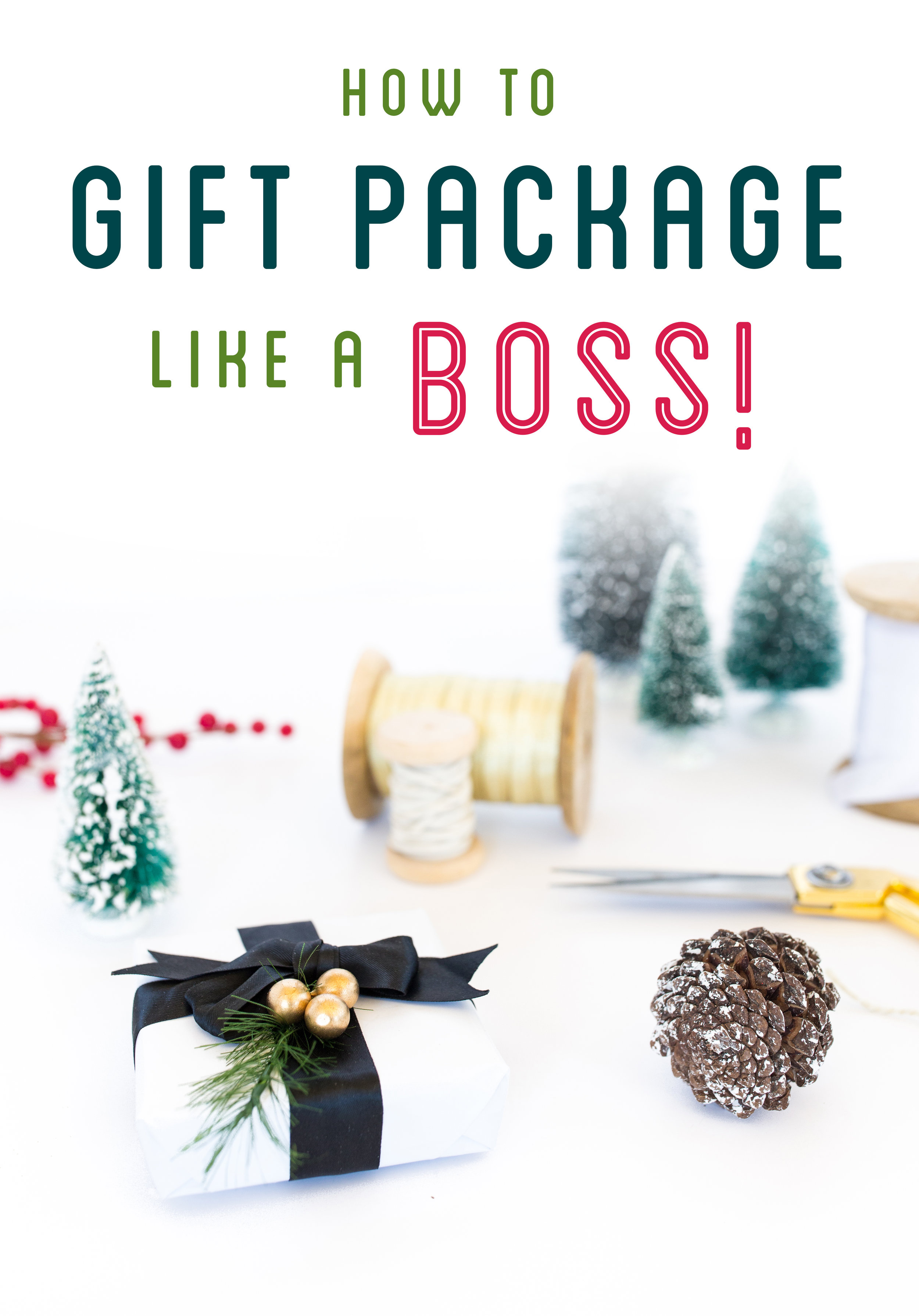 Gift Packaging Tips
