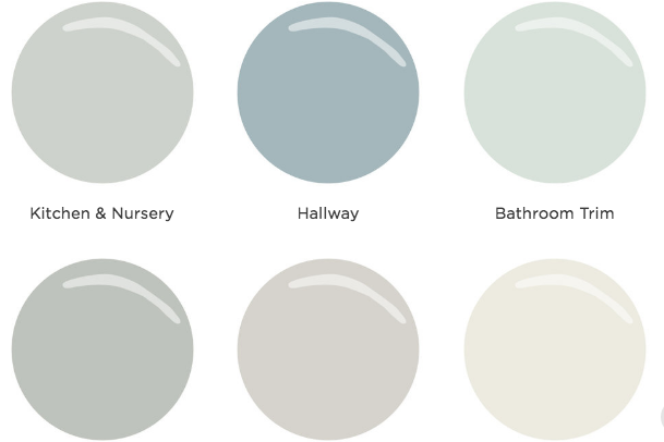 Calming Paint Colors for the Whole House