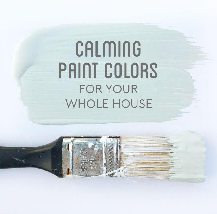 Calming Paint Colors