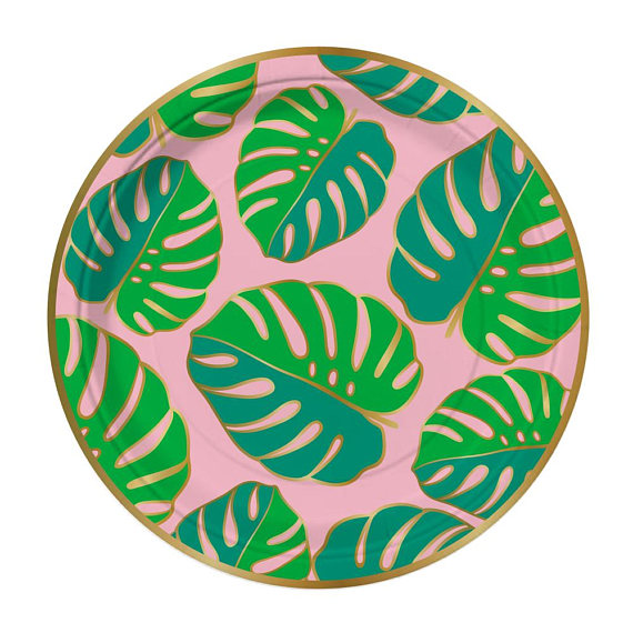 Palm Leaf Party Plates