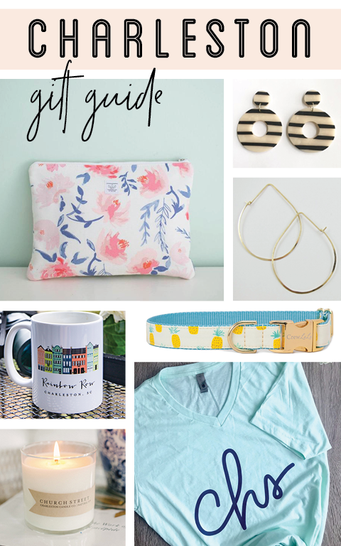 Charleston Gift Guide including Locally Made goods