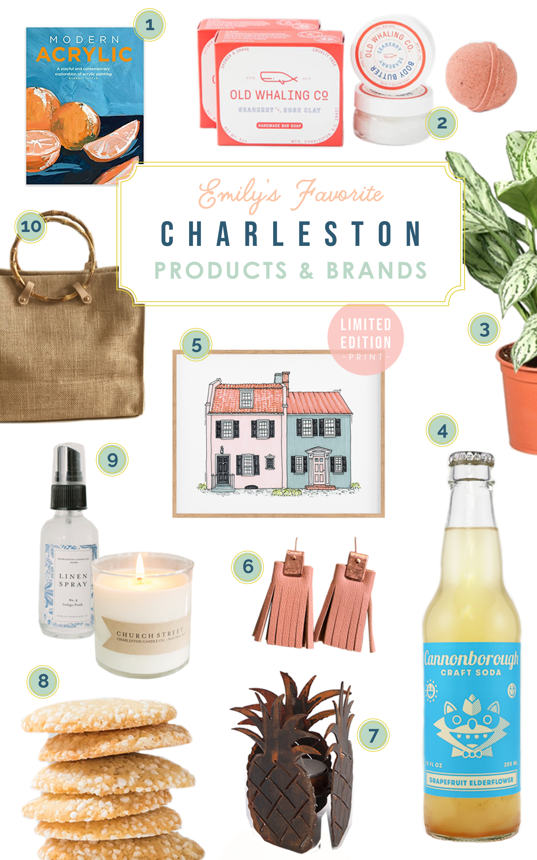 Emily's Favorite Charleston Products and Brands