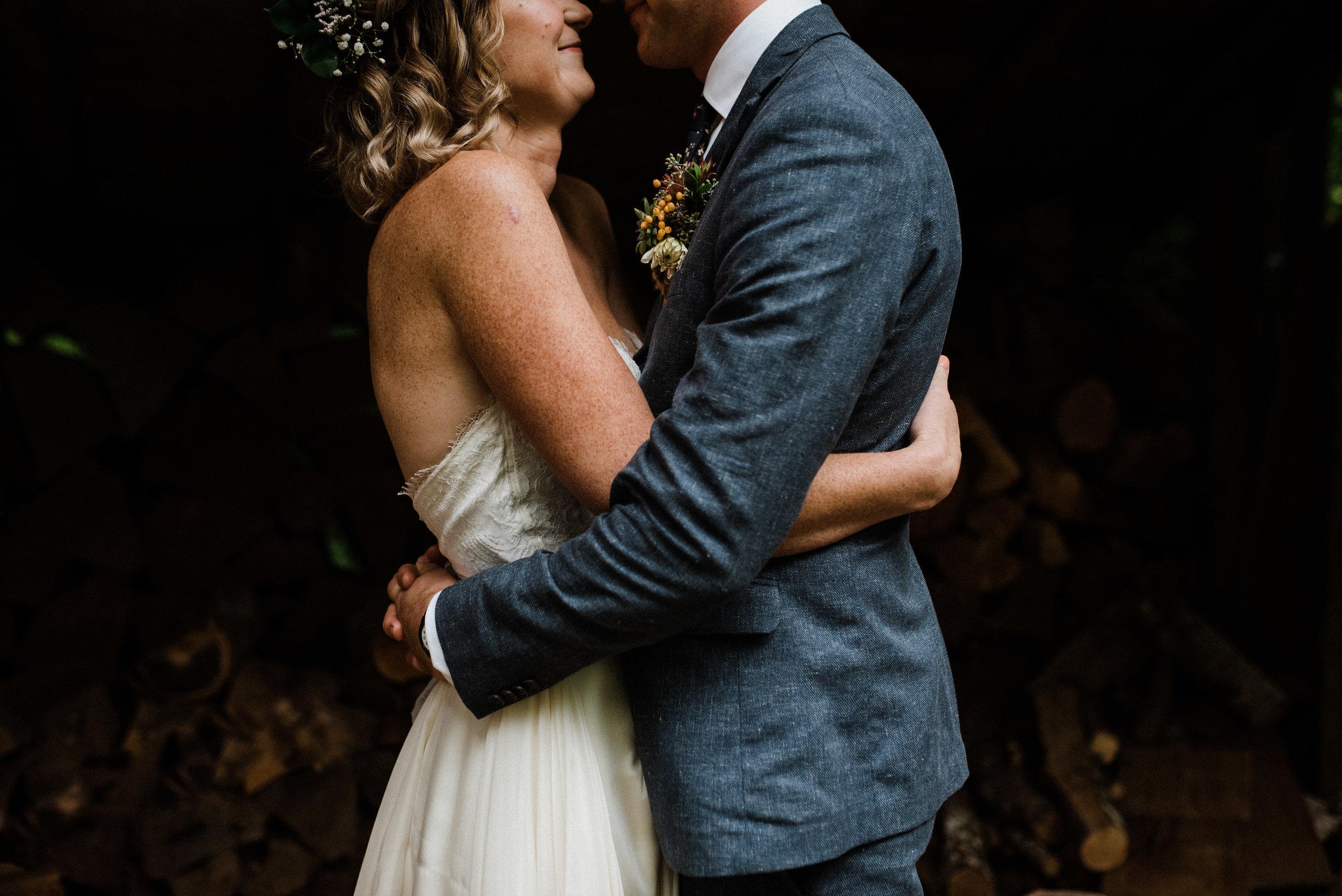 Zach + Shawnee - Boho DIY Wedding in the woods | Seattle, WA