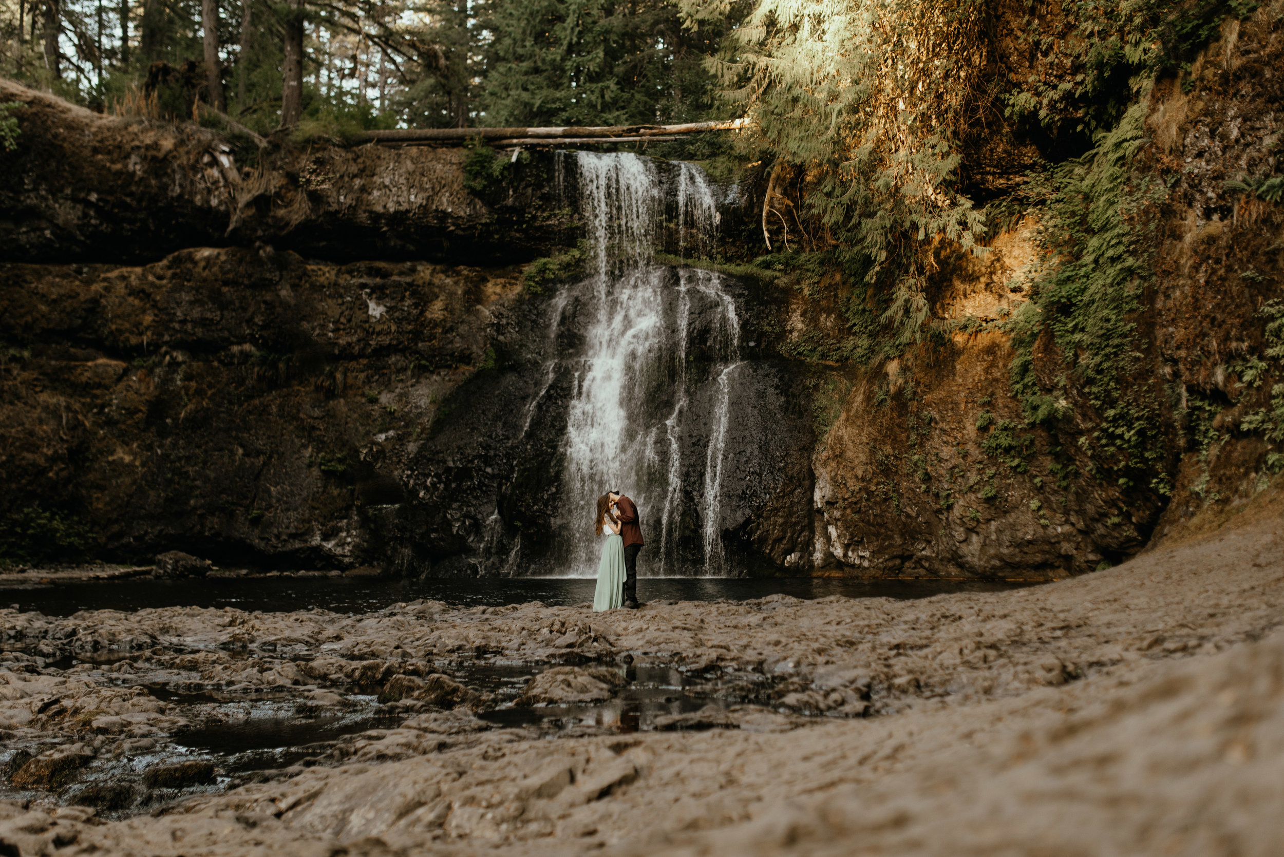 Paige + Alejandro | Silver Falls, OR | Engagement