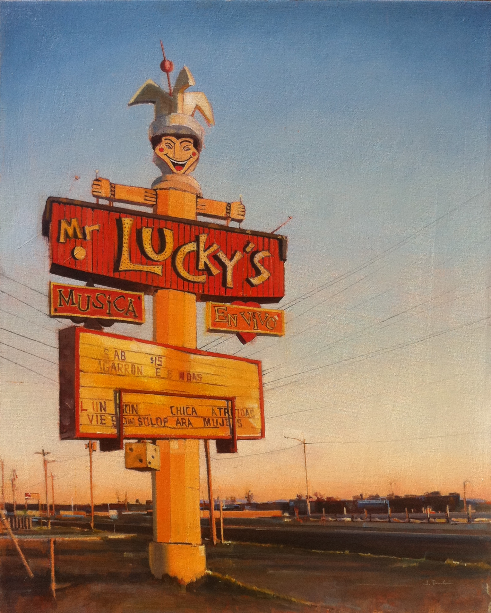 Mr. Lucky's
