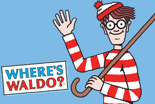 Where's Waldo @ The Library