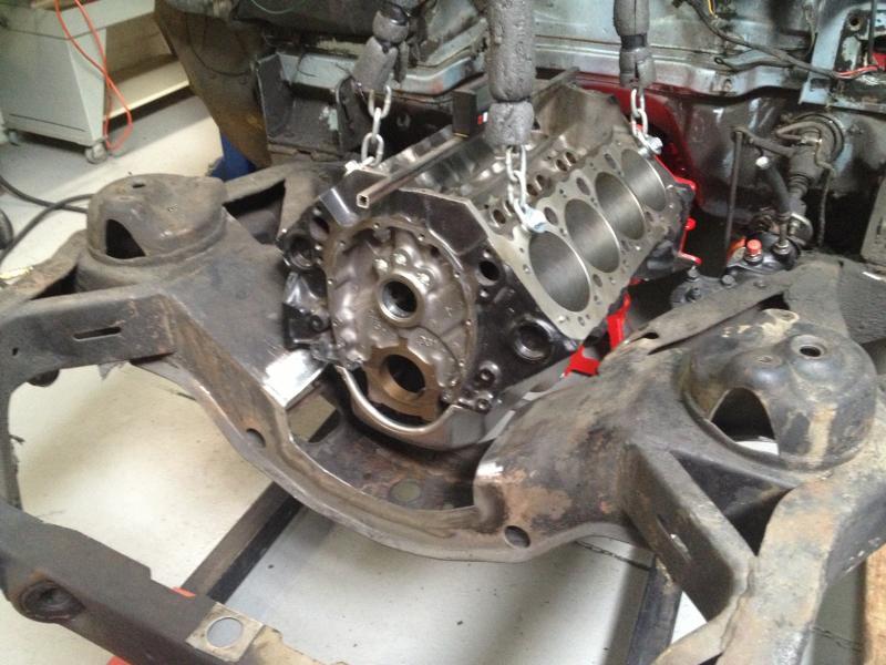 Mocking Up The New Engine