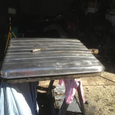 Gas Tank All Stripped & Clean