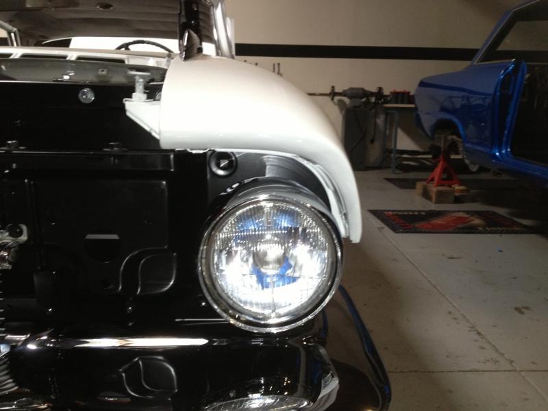 Headlight Installation