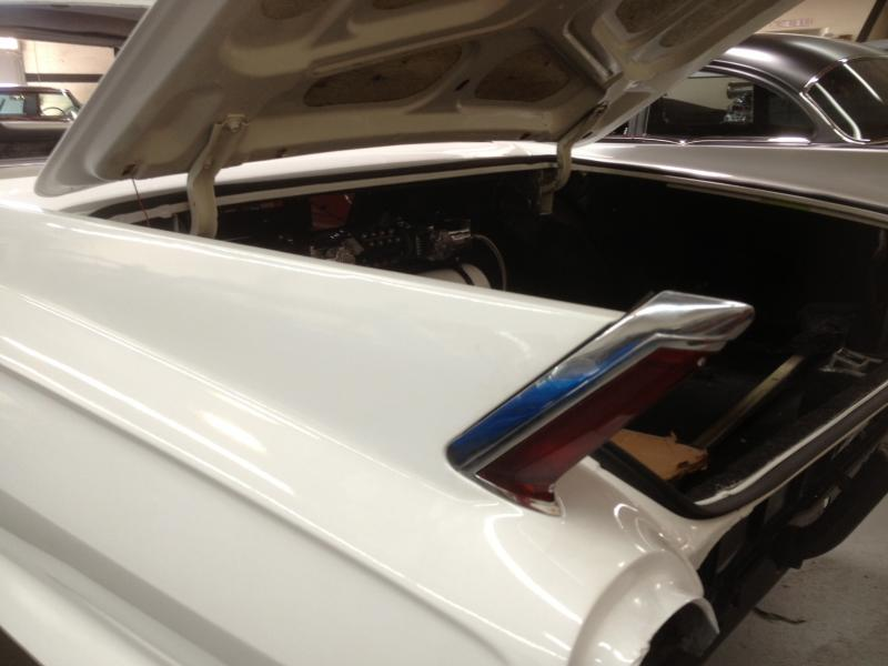 First Peak At Custom Wing. Chrome Fin Lights With Custom Fin Molding To Come....