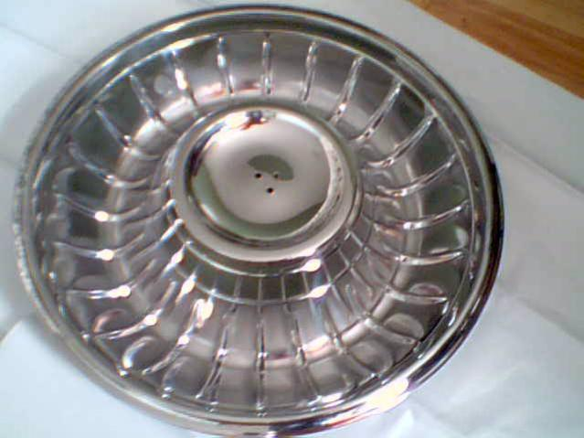 The first thing was to find a company that could do the work neccessary to start the first phase of restoring my hubcaps. I went on line and found The Plating House in Concorde, Ontario. They asked me to send them some pics to assess whether or not they could do it, and they said that they could.