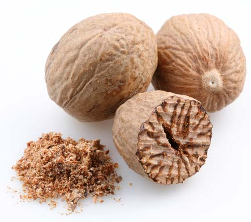 Nutmeg, ground (USDA certified organic)