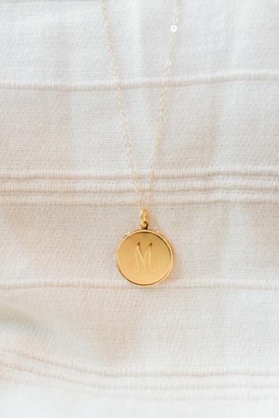 """Dalton"" Personalized Charm Necklace  | Moon & Lola | Apex"
