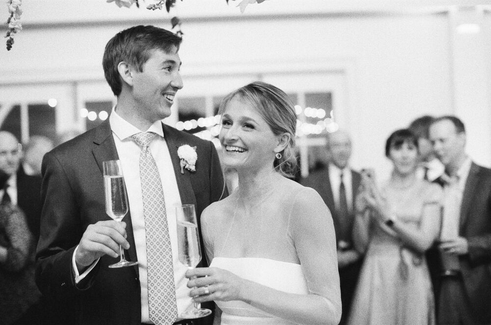 Wedding toasts for the win!