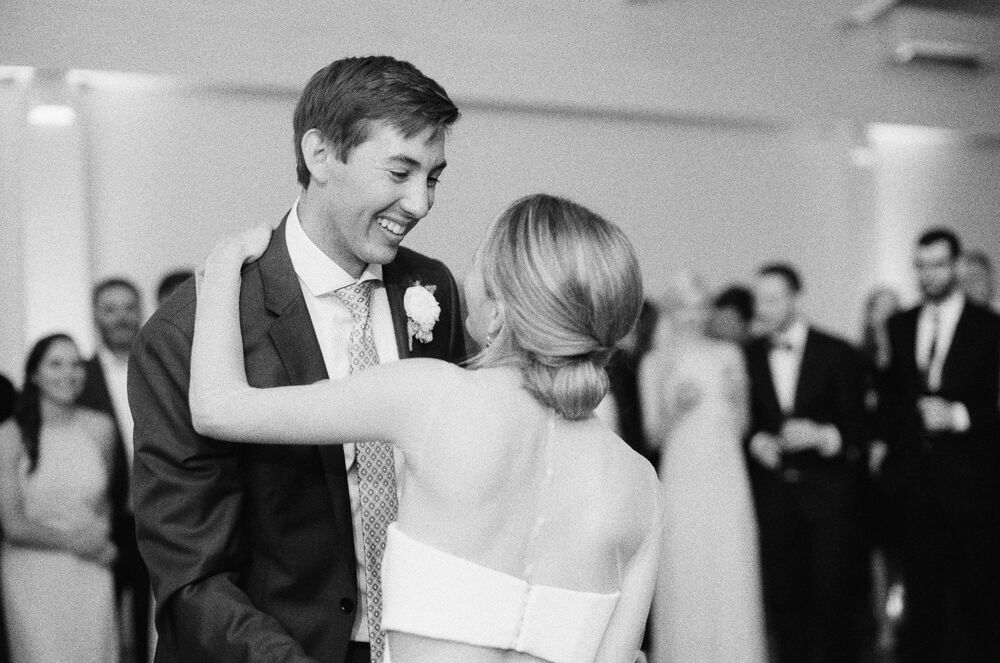 Bride and Grooms first dance!