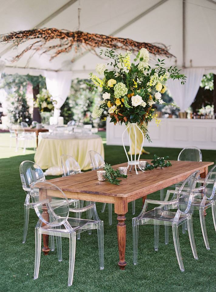 Photography: Jake & Heather   Catering: Posh Nosh   Florals: Petal Pushers   China, Glassware, Flatware: CE Rental   Furniture + Lighting: Themeworks   Tent: Party Reflections