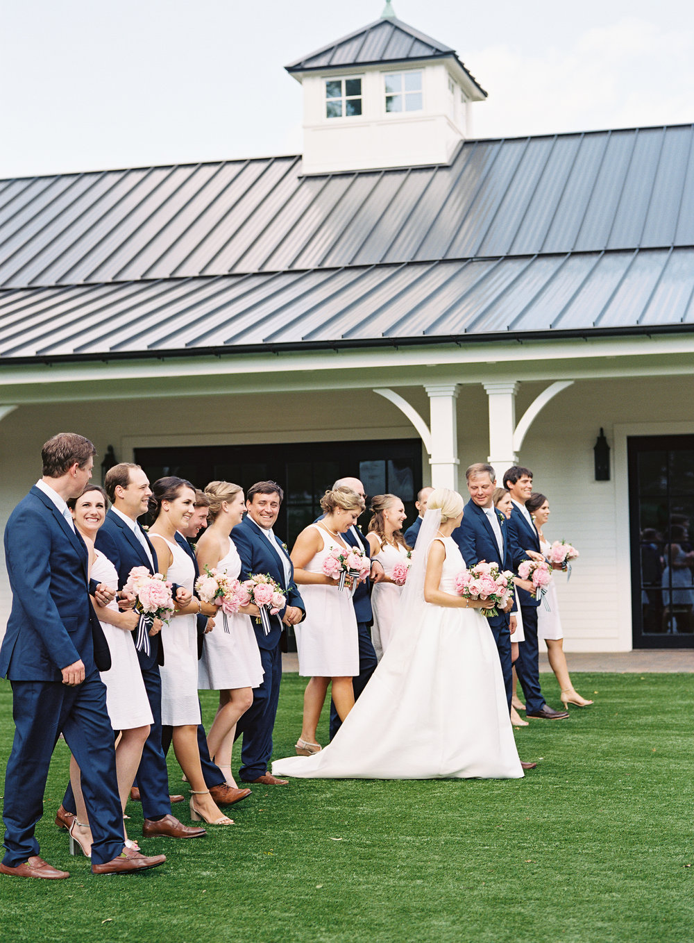 Southern Weddings   Monogrammed Wedding by Rebecca Rose and Graham Terhune