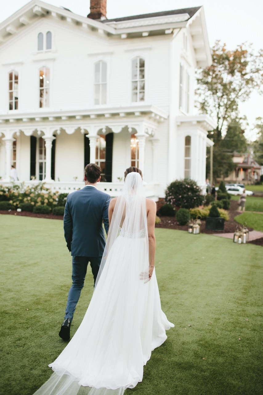 Brides    A Foodie Couple's North Carolina Wedding
