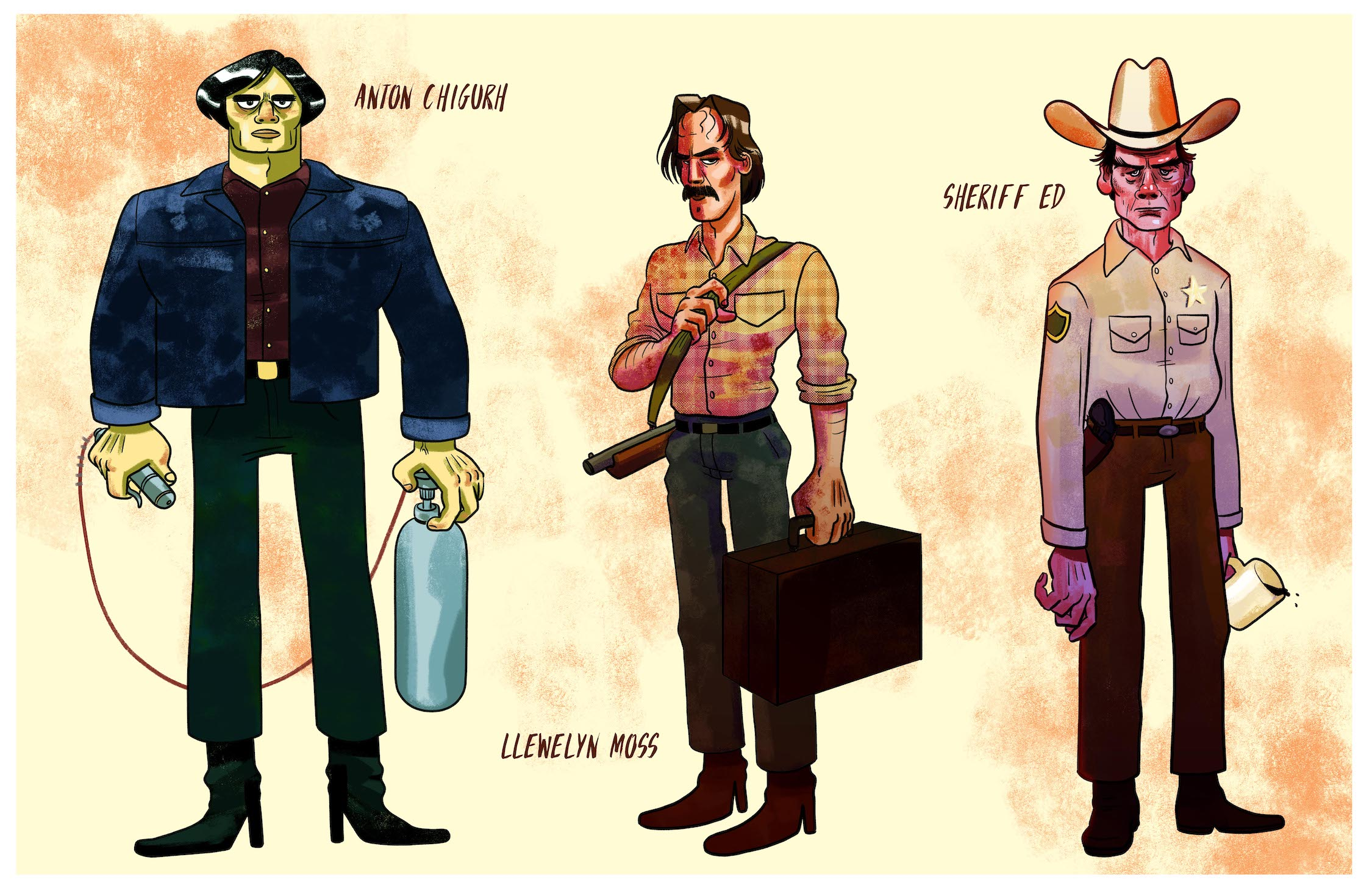 No Country For Old Men - Main Cast