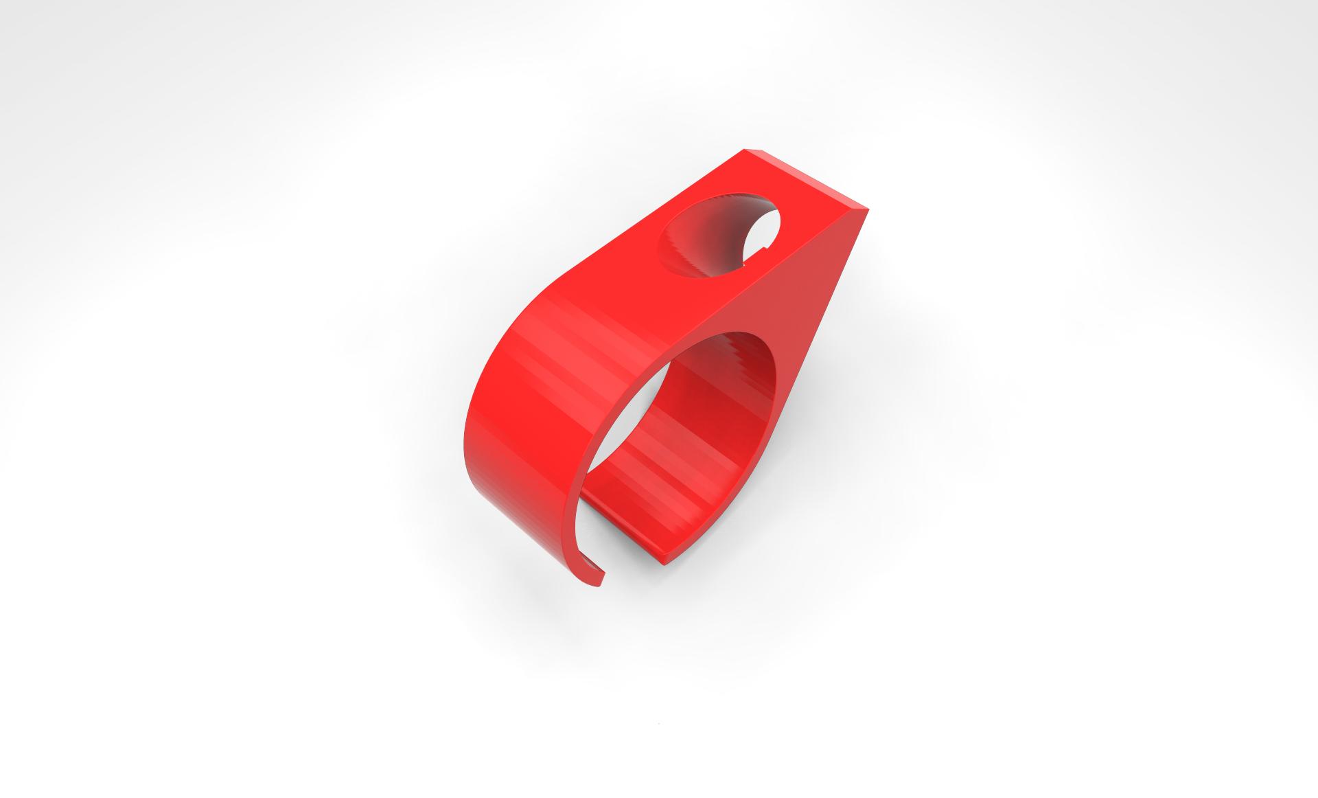 Cigarette Glove Ring