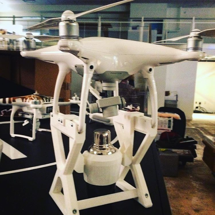Drone Delivery 3D Printed