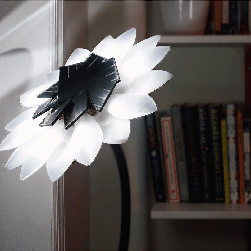 3D Printed Solar Flower